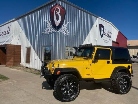 2006 Jeep Wrangler for sale at Barrett Auto Gallery in San Juan TX