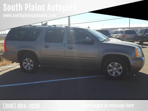 2013 GMC Yukon XL for sale at South Plains Autoplex by RANDY BUCHANAN in Lubbock TX