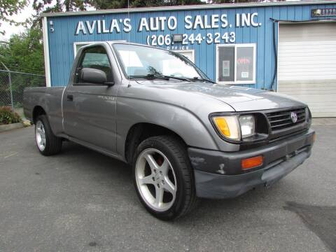 1996 Toyota Tacoma for sale at Avilas Auto Sales Inc in Burien WA
