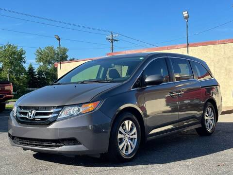 2016 Honda Odyssey for sale at North Imports LLC in Burnsville MN