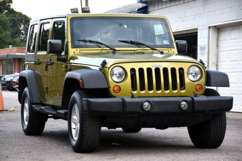 2007 Jeep Wrangler Unlimited for sale at Wheel Deal Auto Sales LLC in Norfolk VA