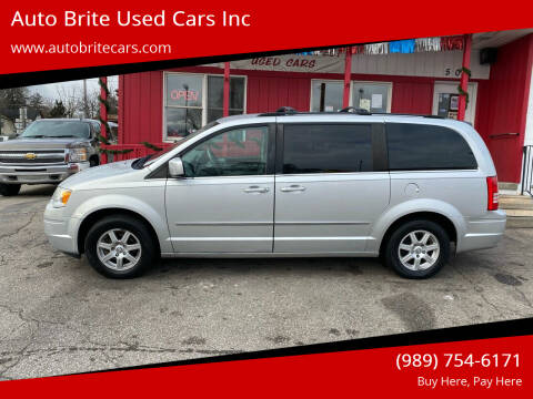 2010 Chrysler Town and Country for sale at Auto Brite Used Cars Inc in Saginaw MI