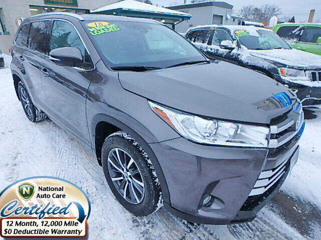 2018 Toyota Highlander for sale at Jon's Auto in Marquette MI