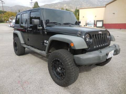 2008 Jeep Wrangler Unlimited for sale at ARAX AUTO SALES in Tujunga CA