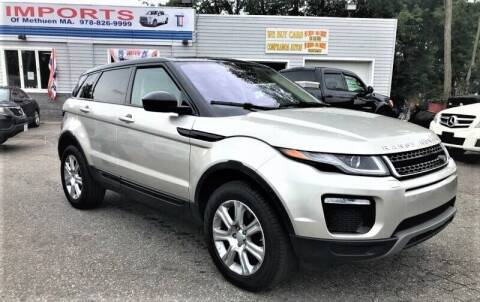 2017 Land Rover Range Rover Evoque for sale at Top Line Import of Methuen in Methuen MA