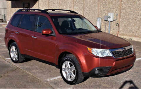 2010 Subaru Forester for sale at M G Motor Sports in Tulsa OK