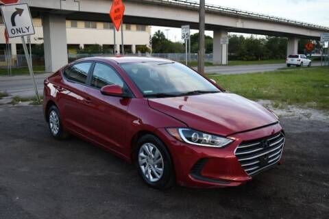 2017 Hyundai Elantra for sale at ELITE MOTOR CARS OF MIAMI in Miami FL