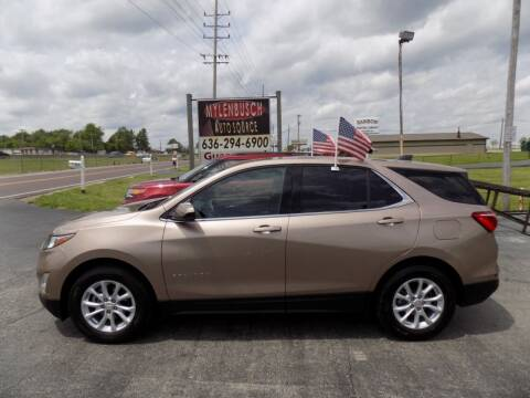 2019 Chevrolet Equinox for sale at MYLENBUSCH AUTO SOURCE in O'Fallon MO