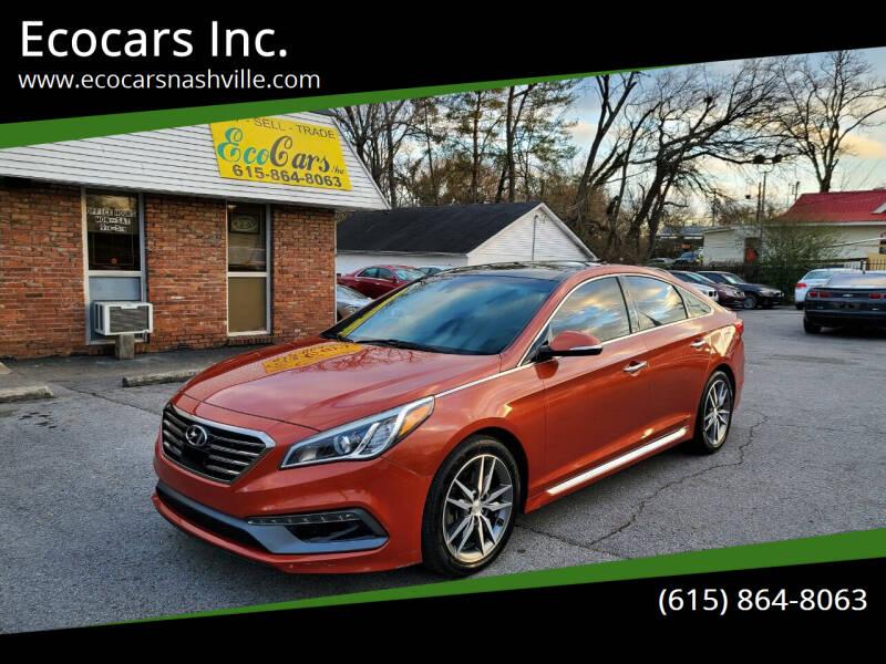 2015 Hyundai Sonata for sale at Ecocars Inc. in Nashville TN