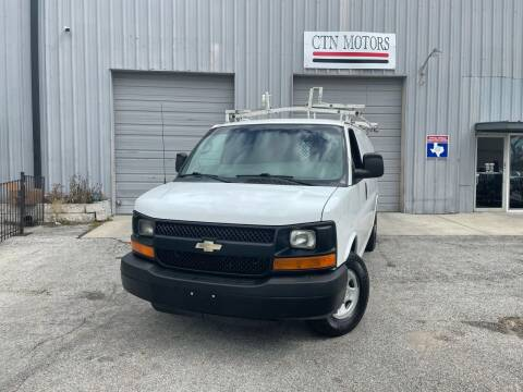 2012 Chevrolet Express Cargo for sale at CTN MOTORS in Houston TX