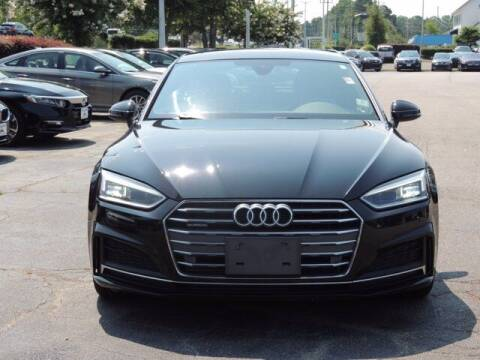 2018 Audi A5 Sportback for sale at Auto Finance of Raleigh in Raleigh NC