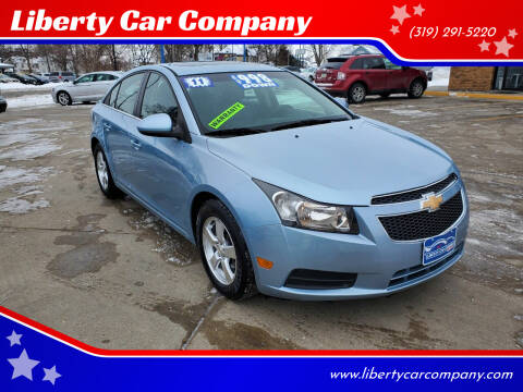 2011 Chevrolet Cruze for sale at Liberty Car Company in Waterloo IA
