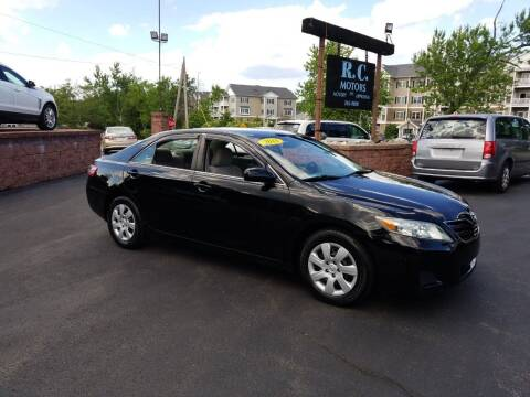 2011 Toyota Camry for sale at R C Motors in Lunenburg MA
