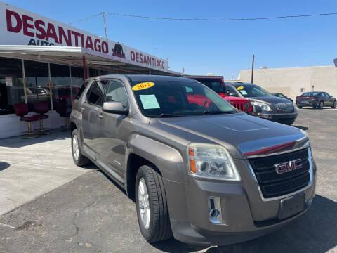 2012 GMC Terrain for sale at DESANTIAGO AUTO SALES in Yuma AZ