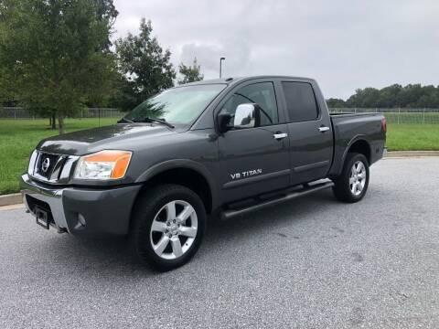 2008 Nissan Titan for sale at GTO United Auto Sales LLC in Lawrenceville GA