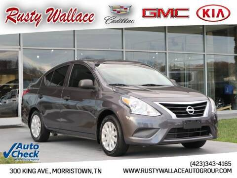 2015 Nissan Versa for sale at RUSTY WALLACE CADILLAC GMC KIA in Morristown TN