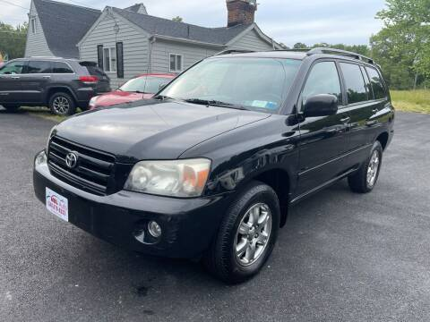 2007 Toyota Highlander for sale at MBL Auto Woodford in Woodford VA