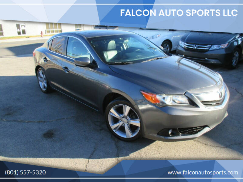 2013 Acura ILX for sale at Falcon Auto Sports LLC in Murray UT