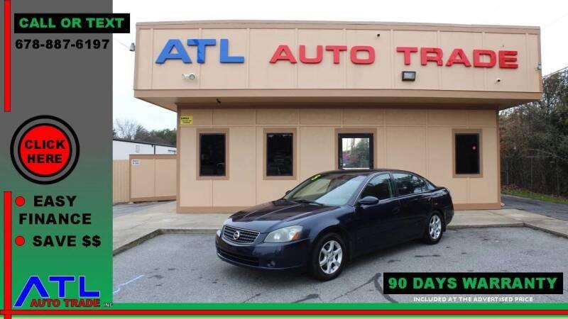 2005 Nissan Altima for sale at ATL Auto Trade, Inc. in Stone Mountain GA