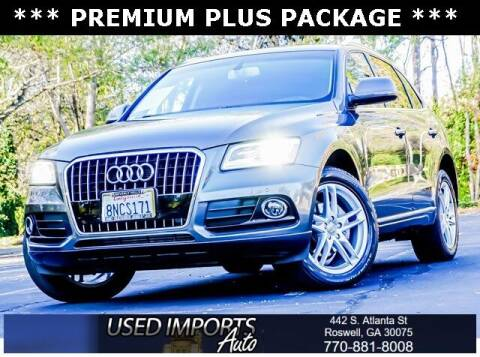 2015 Audi Q5 for sale at Used Imports Auto in Roswell GA