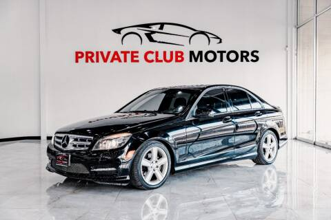 2011 Mercedes-Benz C-Class for sale at Private Club Motors in Houston TX