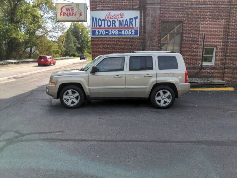 2010 Jeep Patriot for sale at Garys Motor Mart Inc. in Jersey Shore PA