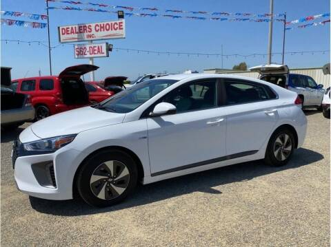 2018 Hyundai Ioniq Hybrid for sale at Dealers Choice Inc in Farmersville CA