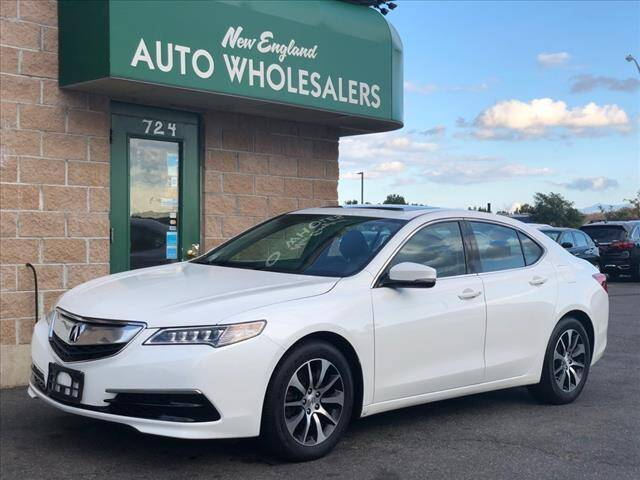 2017 Acura TLX for sale at New England Wholesalers in Springfield MA