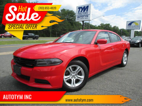2019 Dodge Charger for sale at AUTOTYM INC in Fredericksburg VA