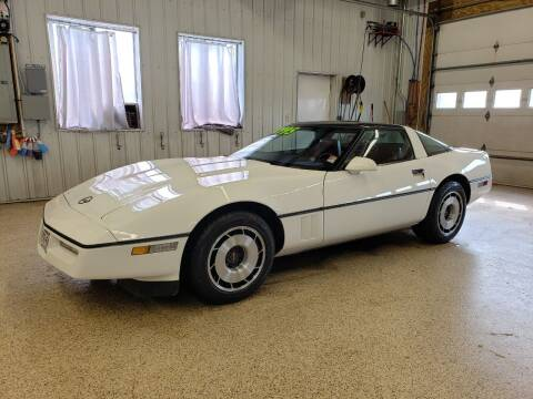 1985 Chevrolet Corvette for sale at Sand's Auto Sales in Cambridge MN