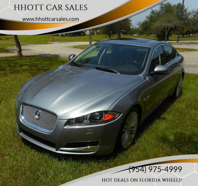 2012 Jaguar XF for sale at HHOTT CAR SALES in Deerfield Beach FL