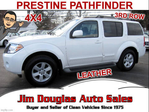 2008 Nissan Pathfinder for sale at Jim Douglas Auto Sales in Pontiac MI