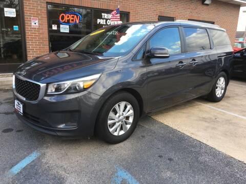2015 Kia Sedona for sale at Bankruptcy Car Financing in Norfolk VA