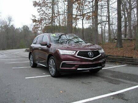 2018 Acura MDX for sale at RICH AUTOMOTIVE Inc in High Point NC