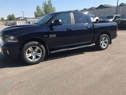 2017 RAM Ram Pickup 1500 for sale at Canuck Truck in Magrath AB