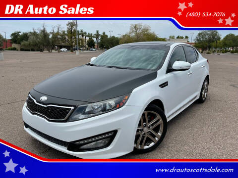 2013 Kia Optima for sale at DR Auto Sales in Scottsdale AZ