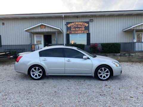 2008 Nissan Maxima for sale at Worthington Auto Sales in Wooster OH