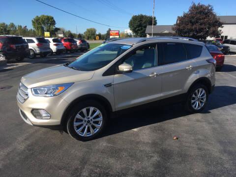 2017 Ford Escape for sale at JACK'S AUTO SALES in Traverse City MI