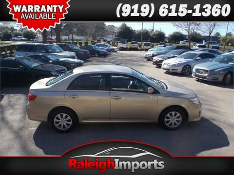2011 Toyota Corolla for sale at Raleigh Imports in Raleigh NC
