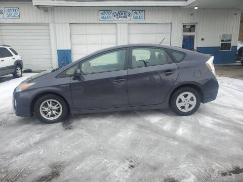 2011 Toyota Prius for sale at Dave's Garage & Auto Sales in East Peoria IL