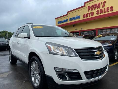 2015 Chevrolet Traverse for sale at Popas Auto Sales in Detroit MI