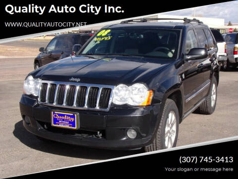 2008 Jeep Grand Cherokee for sale at Quality Auto City Inc. in Laramie WY