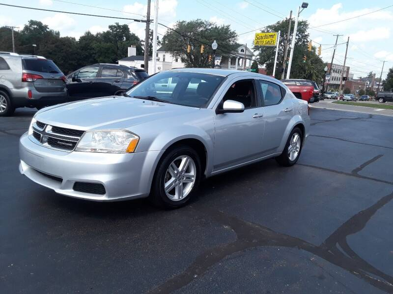 2011 Dodge Avenger for sale at Sarchione INC in Alliance OH