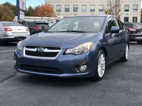 2012 Subaru Impreza for sale at All Star Auto  Cycle in Marlborough MA