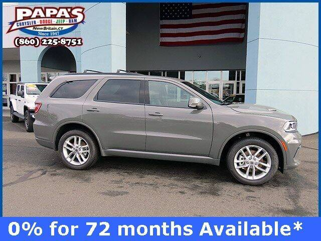 2021 Dodge Durango for sale at Papas Chrysler Dodge Jeep Ram in New Britain CT