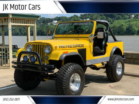 1986 Jeep CJ-7 for sale at JK Motor Cars in Pittsburgh PA
