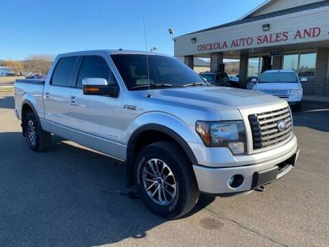 2012 Ford F-150 for sale at Osceola Auto Sales and Service in Osceola WI