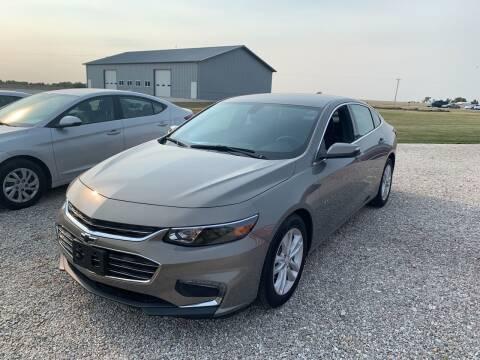2018 Chevrolet Malibu for sale at Burtle Motors in Auburn IL