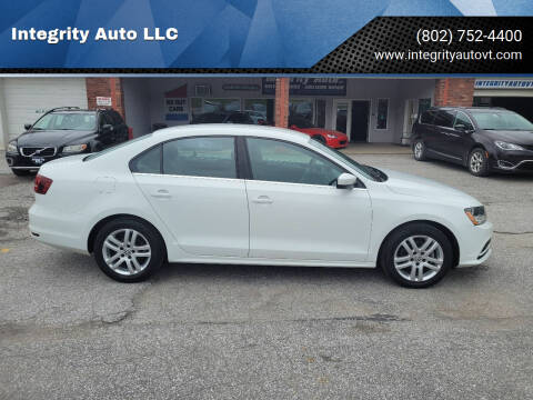 2017 Volkswagen Jetta for sale at Integrity Auto LLC - Integrity Auto 2.0 in St. Albans VT
