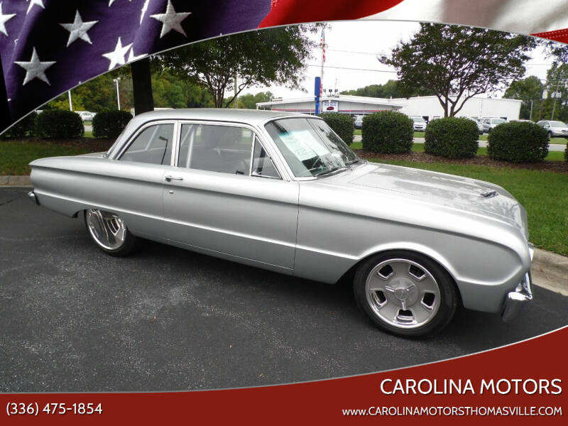 1962 Ford Falcon for sale at CAROLINA MOTORS in Thomasville NC